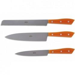 N. 7360 Compendio Ceppo 3 Coltelli Cucina - 2