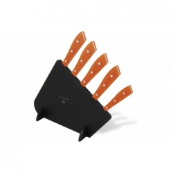 N. 7362 Compendio Lucite Block With 5 Knives - 1