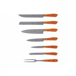 N. 7364 Compendio Lucite Block With 7 Knives - 2