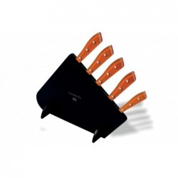 N. 8462 Compendio Lucite Block With 5 Knives - 1