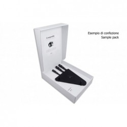 N. 8560 Compendio Lucite Block With 3 Knives - 3