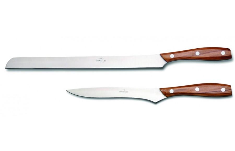 N. 52147 Leather Case Ham & Boning Knife - 1