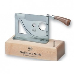 N. 195 Cigar Cutter With Wood Base
