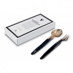 N. 6000 Pair Fancy Salad Server