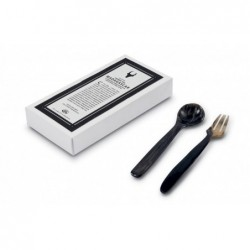 N. 6015 Pair Spoon/Fork Cm 13 - 1