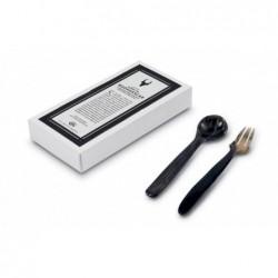 N. 6015 Pair Spoon/Fork Cm 13