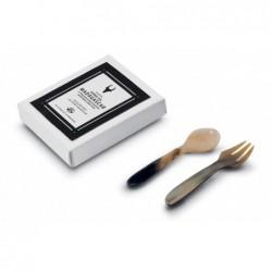 N. 6016 Pair Spoon/Fork Cm...
