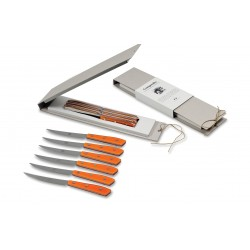 N. 8450 Compendio Table Knives - Set 6 Pcs - 3