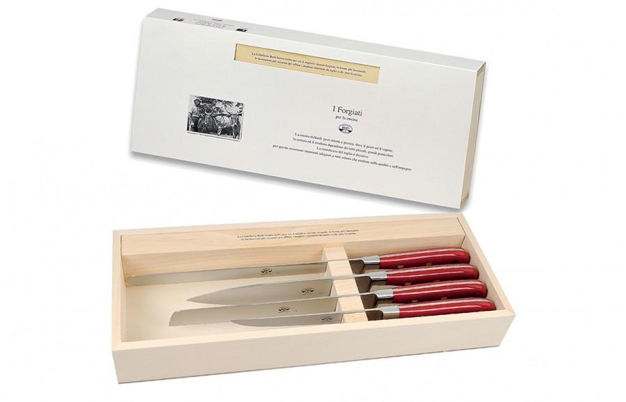 N. 2420 Trousseau Of Four Kitchen Knives - 1