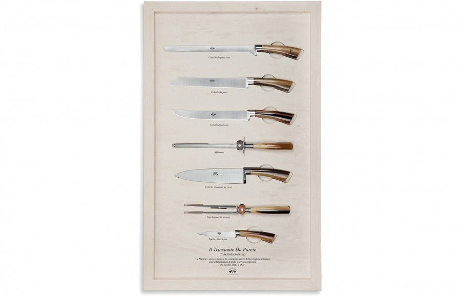 N. 2738 Il Trinciante Da Parete - Serving  Knives - 1
