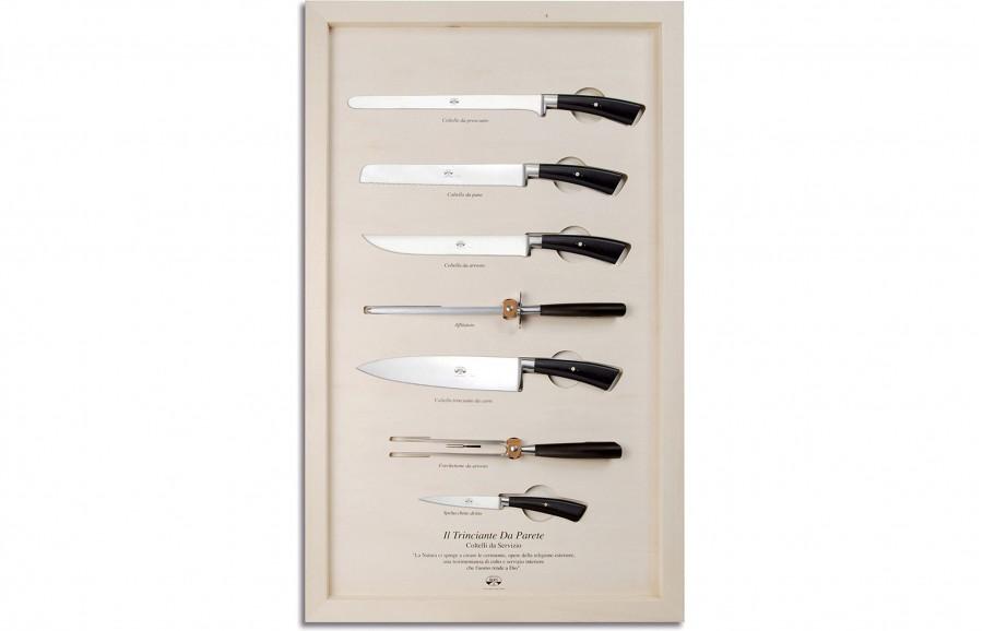 N. 3038 Il Trinciante Da Parete - Serving  Knives - 1