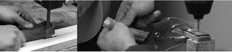 """Casertani"" handcrafted pocket knives"