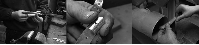 """Napoletani"" handcrafted pocket knives"