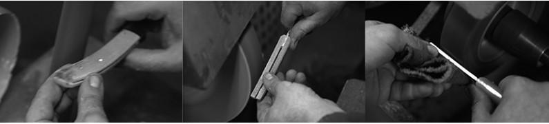 """""""Mozzette"""" handcrafted pocket knives"""