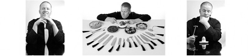 I coltelli di Ernst Knam per Coltellerie Berti