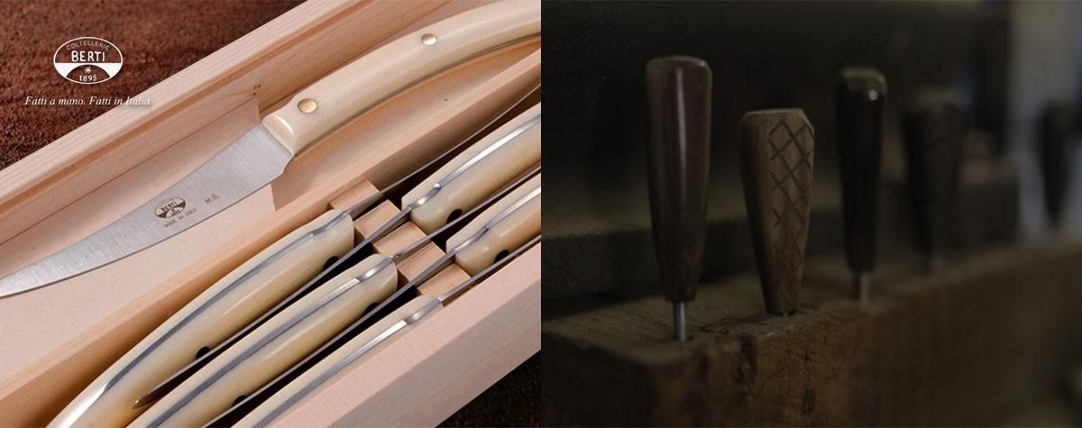 Convivio nuovo, il set di coltelli di Coltellerie Berti  - Tradizioni Associate